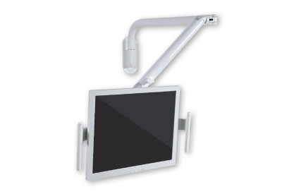 Articulated monitor mount