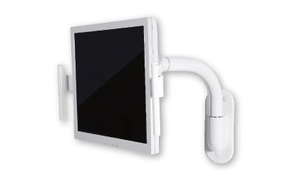 Fixed monitor mount